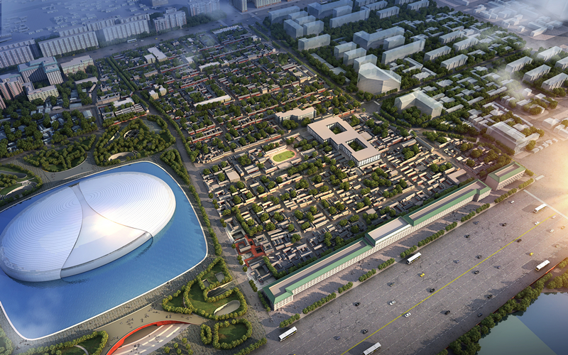 国家大剧院西侧住房和环境改善项目