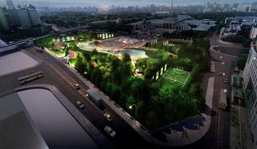 西外体育中心项目