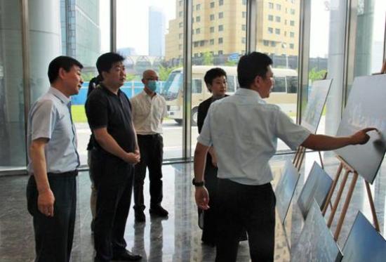 西城区领导调研金融街集团所属上海公司项目