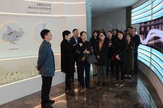 西城区国资委领导到重庆公司调研
